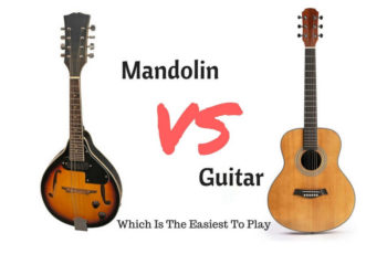 Difference between mandolin and guitar